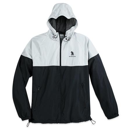926db8d1c Disney Hooded Windbreaker Jacket for Men - Disney World - Black & Gray