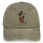 Disney Hat - Baseball Cap - Classic Mickey Mouse - Distressed