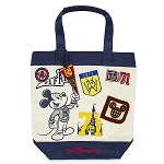 Disney Tote Bag - Walt Disney World 1971 Patches