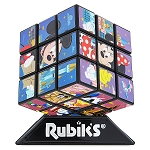 Disney Rubik's Cube Puzzle - Mickey and Friends - Theme Park Edition