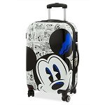 Disney Rolling Luggage - Mickey Mouse Comic - Small
