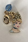 Disney Dangle Charm - Charmed in the Park - Cinderella with Tiara