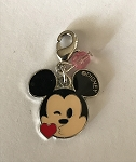 Disney Dangle Charm - Charmed in the Park - Mickey Mouse Kiss
