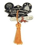 Disney Graduation Pin - 2018 Graduation - Mortarboard Cap