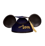 Disney Hat - Mickey Mouse Ears Graduation Hat - Class of 2018