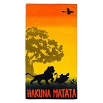 Disney Beach Towel - The Lion King - Hakuna Matata