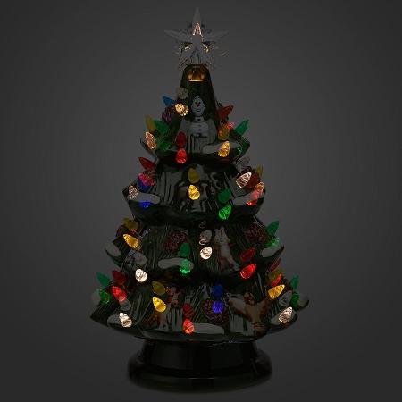 add to wish list - Ceramic Light Up Christmas Tree