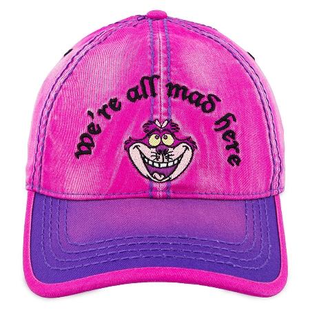 d39fa9985f9d4 Disney Hat - Baseball Cap - Cheshire Cat - We re All Mad Here