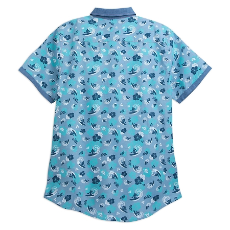 dbe8120f1 Disney Shirt for Men - Mickey Mouse Surf Woven - Blue. Tap to expand
