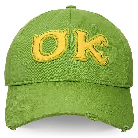 Disney Hat Baseball Cap Monsters University Oozma Kappa