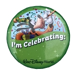 Disney Souvenir Button - I'm Celebrating - Goofy