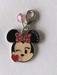 Disney Dangle Charm - Charmed in the Park - Minnie Mouse Kiss