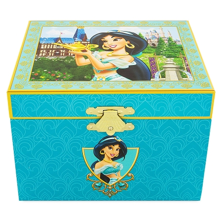 Disney Musical Jewelry Box - Jasmine - Aladdin - Large