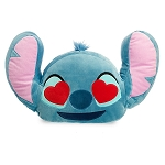 Disney Throw Pillow - Stitch Emoji - Medium