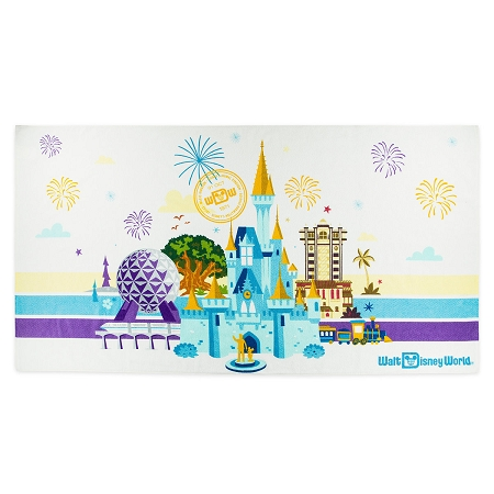 Disney Beach Towel - Walt Disney World Passport