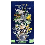 Disney Beach Towel - Mickey Mouse and Friends Safari