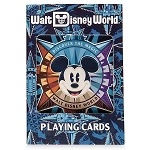 Disney Playing Cards - Mickey Mouse Compass - Walt Disney World