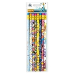 Disney Pencil Set - Disney Parks - Mickey and Friends - Passport