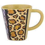 Disney Coffee Mug - Mickey Mouse Animal Print - Animal Kingdom