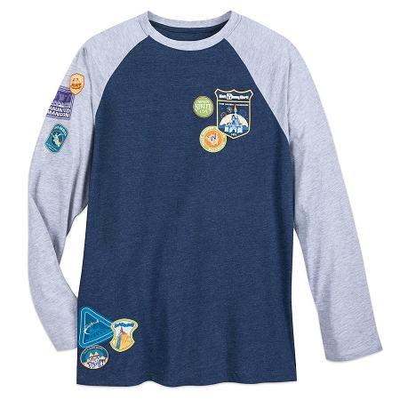 a3610f052a6 Disney Long Sleeve Shirt for Men - Walt Disney World Raglan Passport