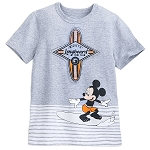 Disney Shirt for Boys - Mickey Mouse Surfer T-Shirt