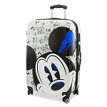 Disney Rolling Luggage - Mickey Mouse Comic - Large