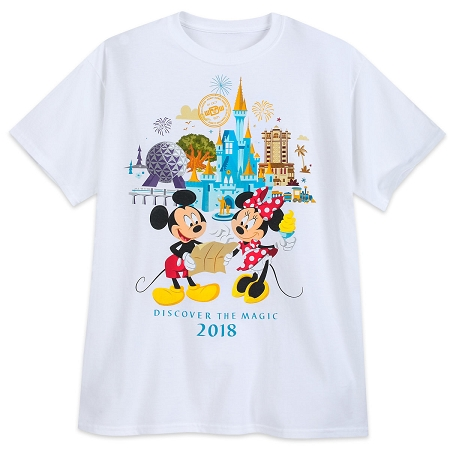 b3e288323 Disney Adult Shirt - 2018 Mickey and Minnie Four Parks - Disney World
