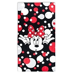 Disney Beach Towel - Minnie Mouse Bow Polka Dot