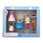 Disney Figure Set - Cinderella Dress Up