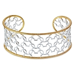 Disney Rebecca Hook Ring - Mickey Mouse Two-Tone Cuff