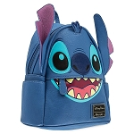 Disney Loungefly Backpack - Stitch Faux Leather - Mini