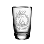 Disney Arribas Juice Glass - Anna - Personalizable