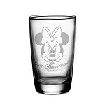 Disney Arribas Juice Glass - Minnie Mouse - Personalizable