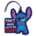 Disney Luggage Bag Tag - Stitch - Don't Mess with My Stuff
