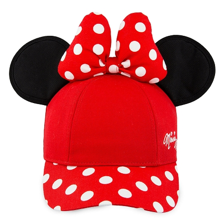 acf2699ac37 Add to My Lists. Disney Hat - Baseball Cap - Minnie Mouse with Ears ...