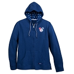 Disney Zip Hoodie for Adults - Mickey Mouse Americana