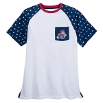 Disney Shirt for Men - Mickey Americana Raglan - Walt Disney World