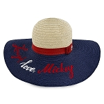 Disney Straw Hat for Women - Mickey Mouse Americana