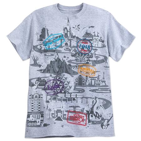 a7cb442b9 Disney Shirt for Adults - 2018 Walt Disney World Map T-Shirt