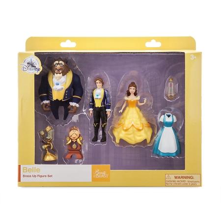 Disney Figure Set Belle Dress Up Beauty And The Beast