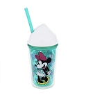 Disney Tumbler with Straw - Mickey and Minnie Mouse