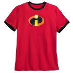 Disney Shirt for Men - The Incredibles Logo - Red