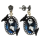 Disney Dangle Earrings - Magic and Mischief - Jack Skellington Cameo