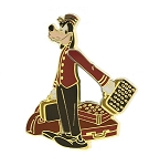 Disney Tower of Terror Pin - Hollywood Tower Hotel - Goofy Bellhop