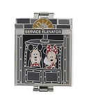 Disney Tower of Terror Pin - Hollywood Tower Hotel - Tri-Fold