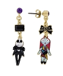 Disney Dangle Earrings - Magic and Mischief - Jack Skellington & Sally