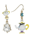 Disney Dangle Earrings - Kingdom and Castles - Chip and Mrs Potts
