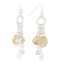Disney Dangle Earrings - Kingdom and Castles - Ariel Dinglehopper