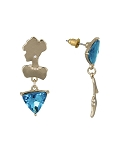 Disney Dangle Earrings - Kingdom and Castles - Cinderella Mismatch