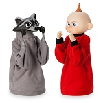 Disney Boxing Puppet Set - Jack-Jack and Raccoon - Incredibles 2